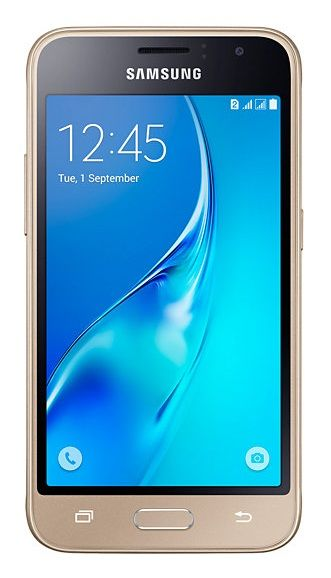 Смартфон SAMSUNG Galaxy J1 (2016) SM-J120F  золотистый