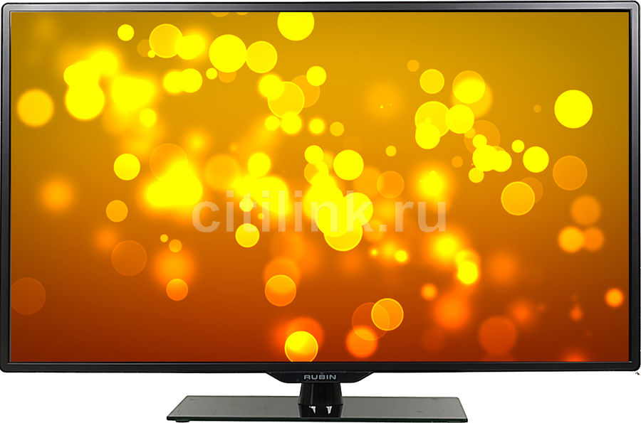 "LED телевизор RUBIN RB-39K105T2S  ""R"", 39"", HD READY (720p),  черный"
