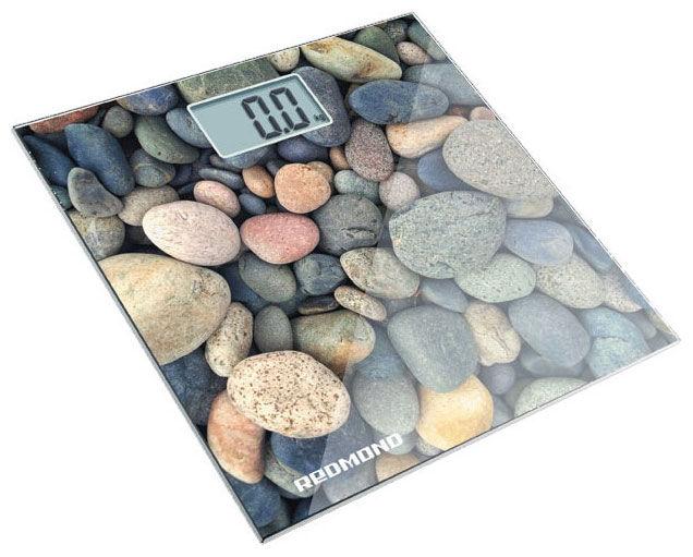 Весы REDMOND RS-708, до 180кг, цвет: белый/камень