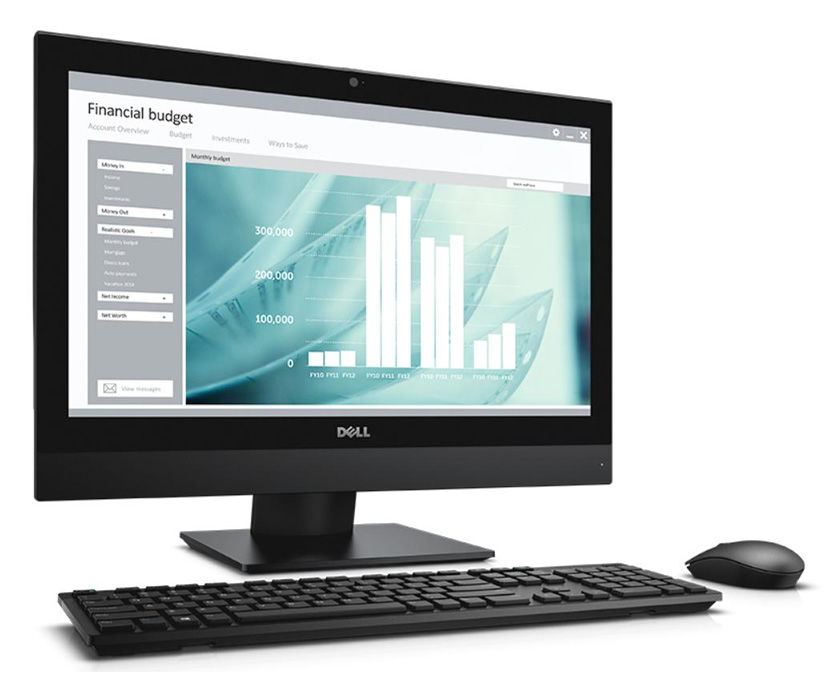 Моноблок DELL Optiplex 3240, Intel Core i3 6100, 4Гб, 500Гб, Intel HD Graphics 530, DVD-RW, Ubuntu, черный [3240-9978]