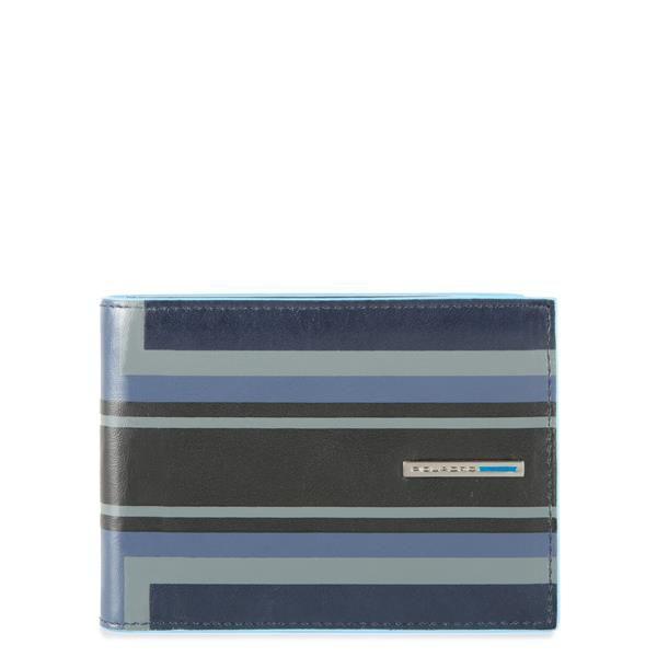 Кошелек мужской Piquadro Blue Square PU257B2SER/BLU синий натур.кожа