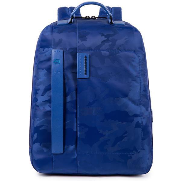 Рюкзак Piquadro Pulse CA3349P16/CAMOBLU синий натур.кожа