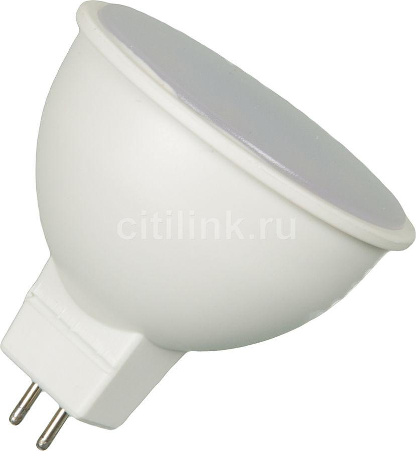 Лампа ЭРА MR16-4w-840-GU5.3, 4Вт, 350lm, 30000ч,  4000К, GU5.3,  1 шт. [б0017747]