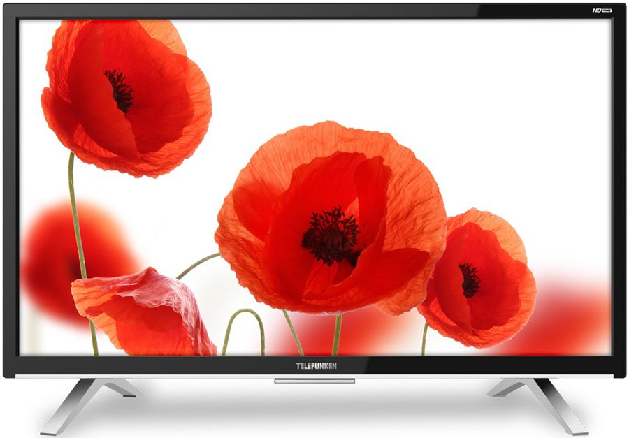 "LED телевизор TELEFUNKEN TF-LED28S16T2  ""R"", 27.5"", HD READY (720p),  черный"