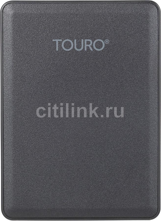Внешний жесткий диск HGST Touro Mobile HTOLMU3E20001ABB, 2Тб, черный [0s03954]