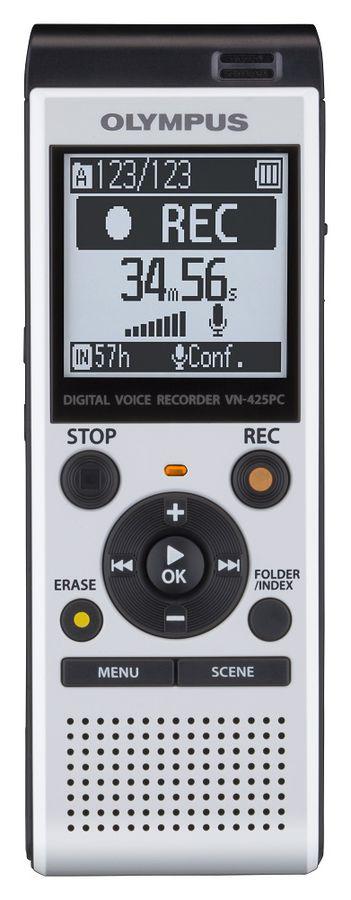 Диктофон OLYMPUS VN-425PC 4 Gb,  белый