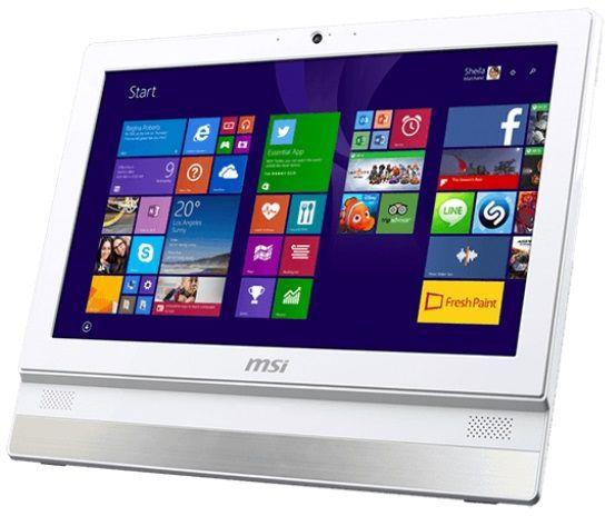 Моноблок MSI Adora 2BT-034RU, Intel Celeron J1900, 2Гб, 500Гб, Intel HD Graphics, DVD-RW, Windows 10, белый [9s6-aaa712-034]