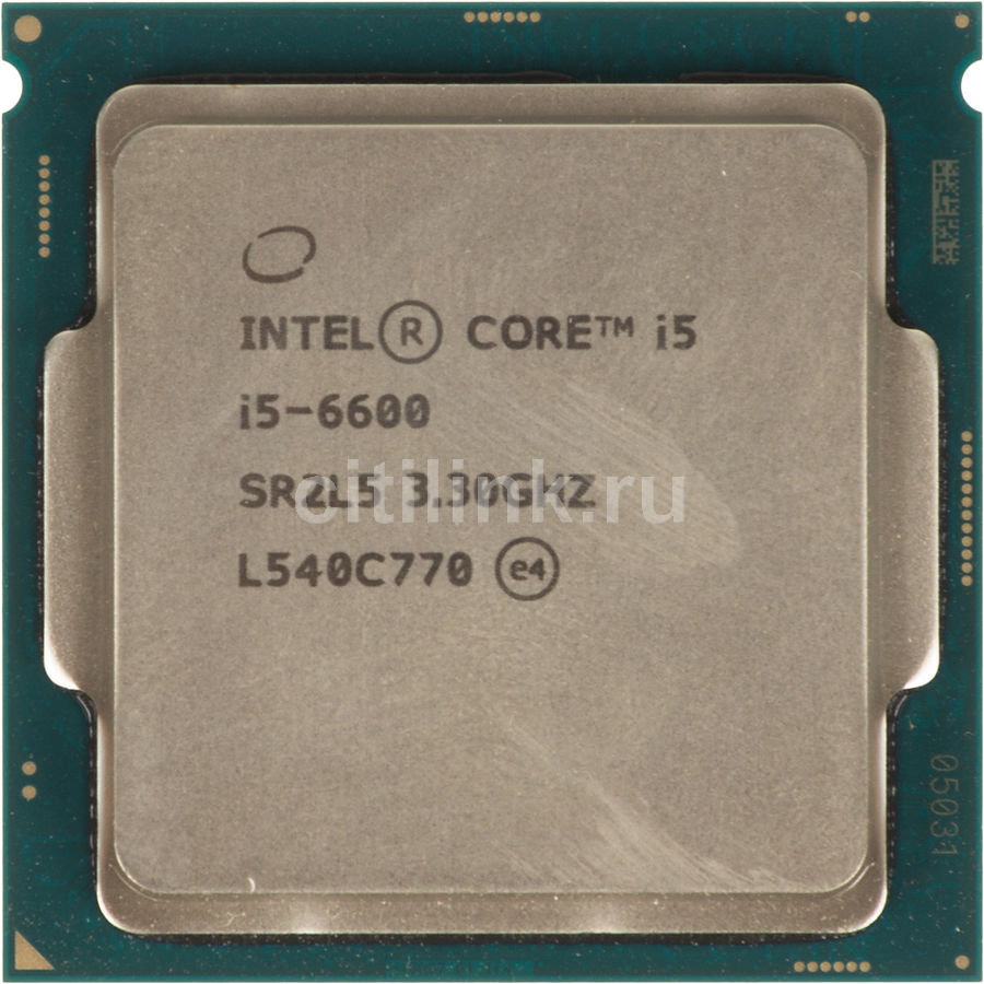 Процессор INTEL Core i5 6600, LGA 1151 ** OEM [cm8066201920401s r2l5]