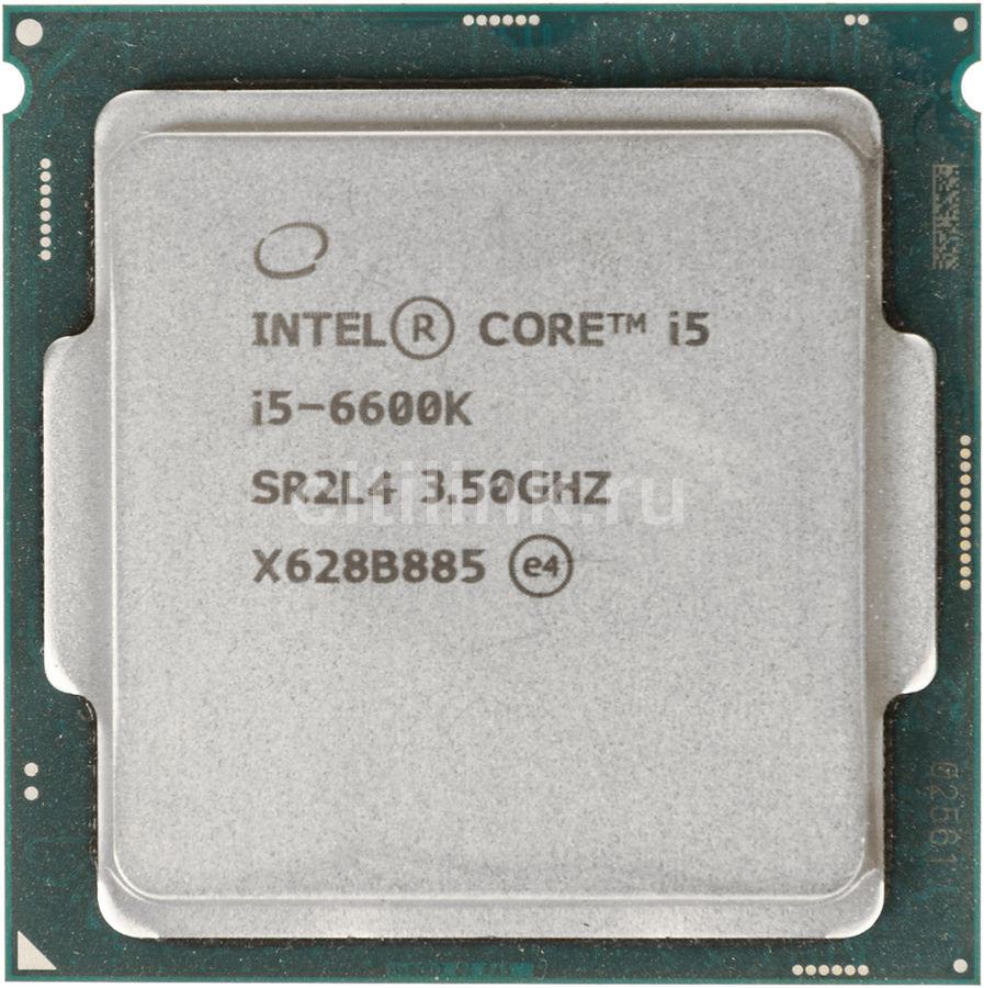 Процессор INTEL Core i5 6600K, LGA 1151 ** OEM [cm8066201920300s r2l4]