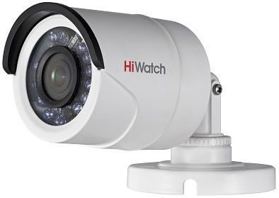 Камера видеонаблюдения HIKVISION HiWatch DS-T100, 2.8 мм, белый hikvision hiwatch ds т200 3 6