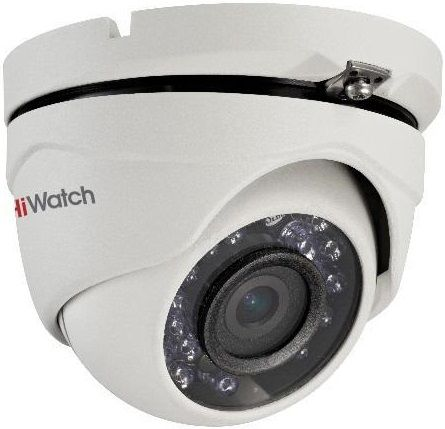 Камера видеонаблюдения HIKVISION HiWatch DS-T103, 2.8 мм, белый hikvision hiwatch ds т200 3 6