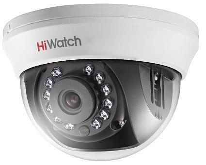 Камера видеонаблюдения HIKVISION HiWatch DS-T201,  3.6 мм,  белый