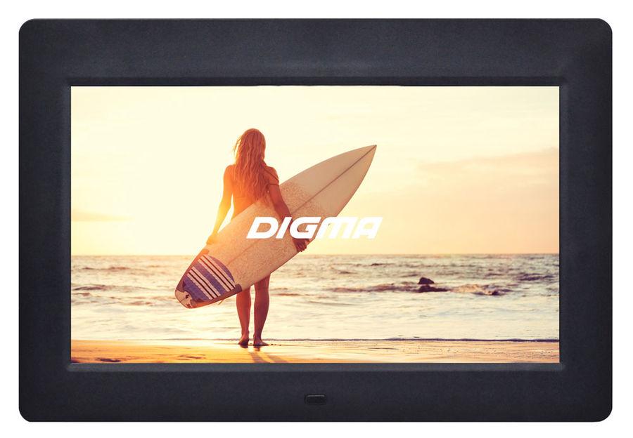 "Цифровая фоторамка DIGMA PF-1033,  10.1"", черный [pf1033bk]"