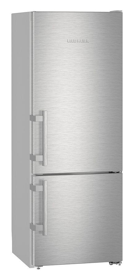 Холодильник LIEBHERR CUef 2915,  двухкамерный, нержавеющая сталь