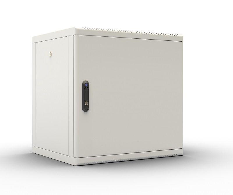 Шкаф настенный ЦМО (ШРН-М-12.500.1) 12U 600x456мм пер.дв.металл съемные бок.пан. 50кг серый