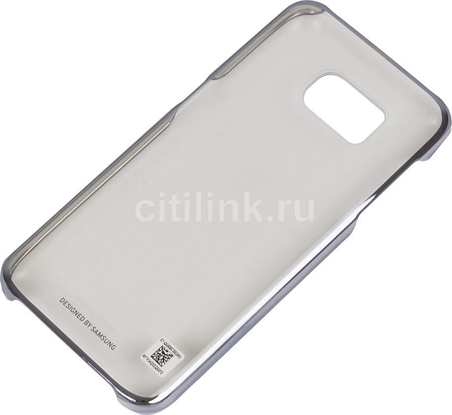 Чехол (клип-кейс) SAMSUNG Clear Cover, для Samsung Galaxy S7, черный [ef-qg930cbegru]