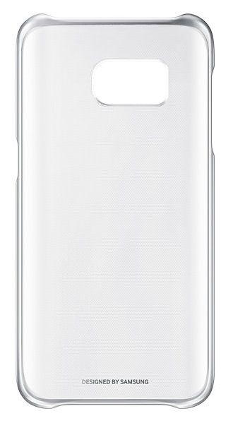Чехол (клип-кейс) SAMSUNG Clear Cover, для Samsung Galaxy S7, серебристый [ef-qg930csegru]