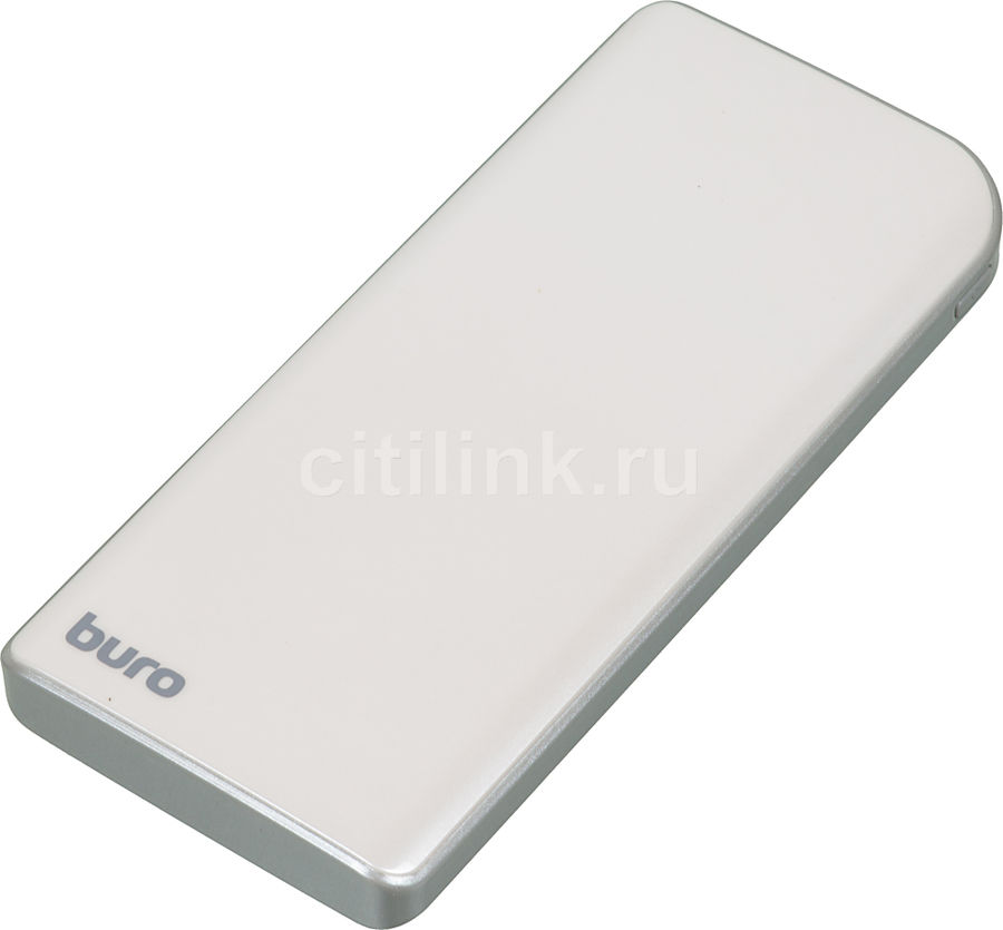 Внешний аккумулятор (Power Bank) BURO RA-8000,  8000мAч,  серебристый