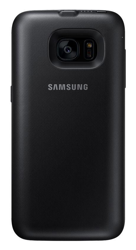 Чехол-аккумулятор SAMSUNG Backpack, для Samsung Galaxy S7 edge, черный [ep-tg935bbrgru]