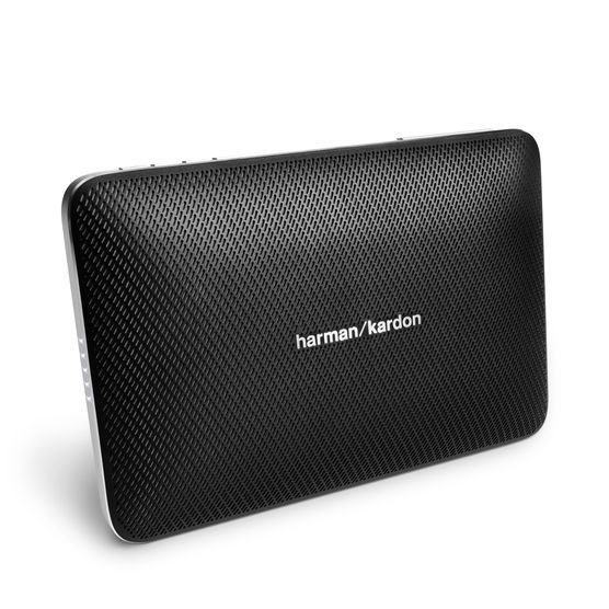 Колонка порт. Harman Kardon Esquire 2 черный 16W 2.0 BT/3.5Jack 3200mAh (HKESQUIRE2BLK)