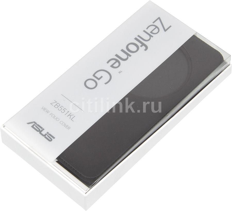 Чехол ASUS ZenFone Go TV G550KL Zibelino Classico ZCL-ASU-G550KL-BLK