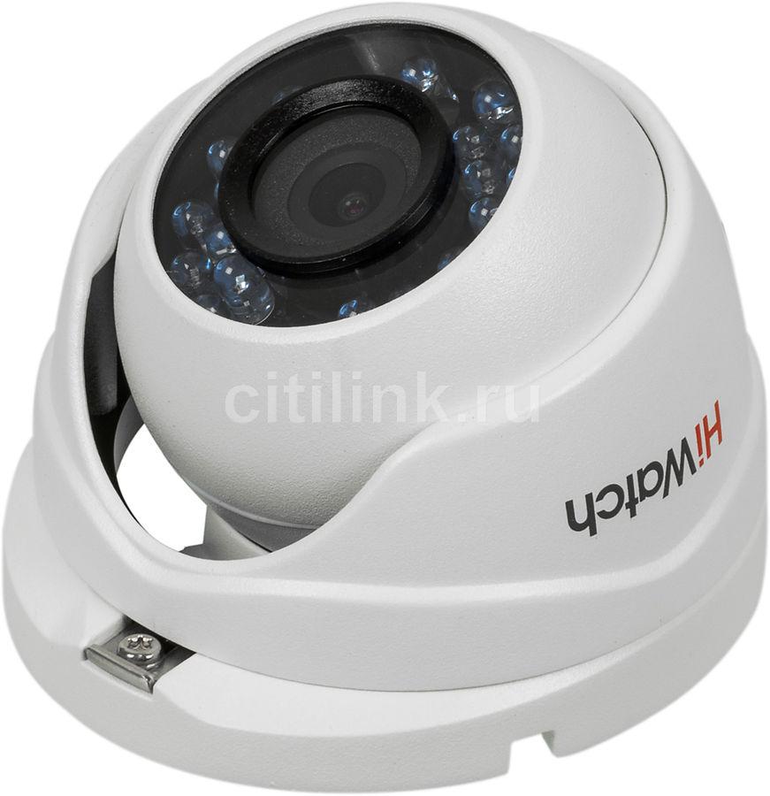 Камера видеонаблюдения HIKVISION HiWatch DS-T103,  3.6 мм,  белый