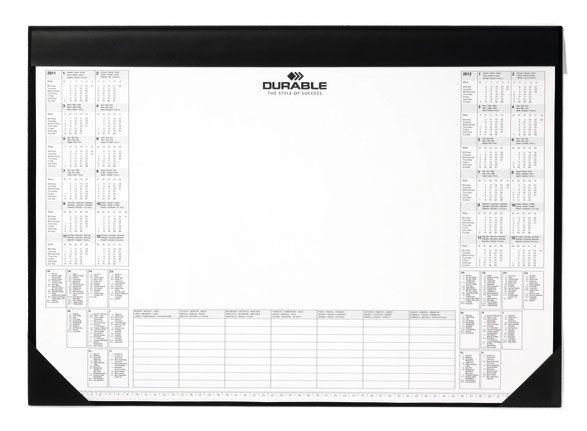 Настольное покрытие Durable (7291-01) 59х42см черный