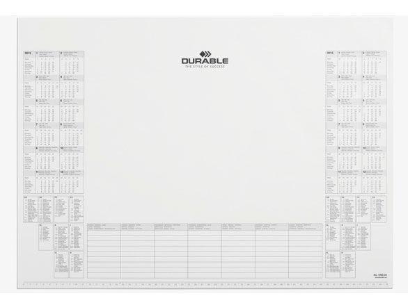 Настольное покрытие Durable (7292-02) 57х40,5см белый