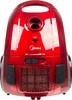 Пылесос MIDEA VCB43B1, 1600Вт, красный вид 1