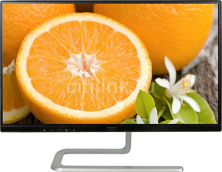 """Монитор ЖК AOC Style I2481FXH(00/01) 23.8"""", черный и серебристый"""