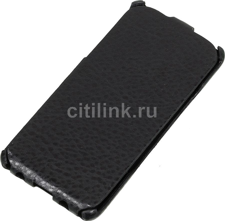 Чехол (флип-кейс) REDLINE iBox Premium, для Samsung Galaxy A3 (2016), черный [ут000008416]