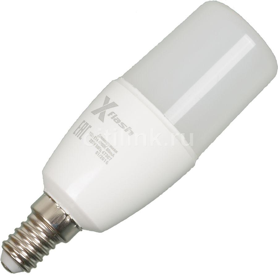 Лампа X-FLASH XF-E14-TCD-P-10W-4000K-220V, 10Вт, 820lm, 50000ч,  4000К, E14,  1 шт. [47307]