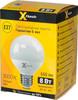 Лампа X-FLASH XF-E27-G70-P-8W-3000K-220V, 8Вт, 650lm, 50000ч,  3000К, E27,  1 шт. [45808] вид 3