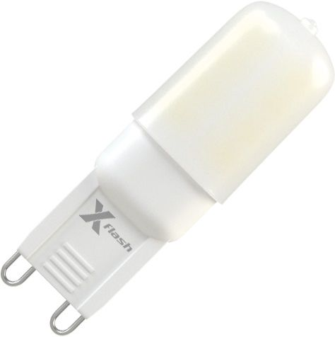 Лампа X-FLASH XF-G9-24-P-3W-3000K-220V, 3Вт, 200lm, 50000ч,  3000К, G9,  1 шт. [47055]