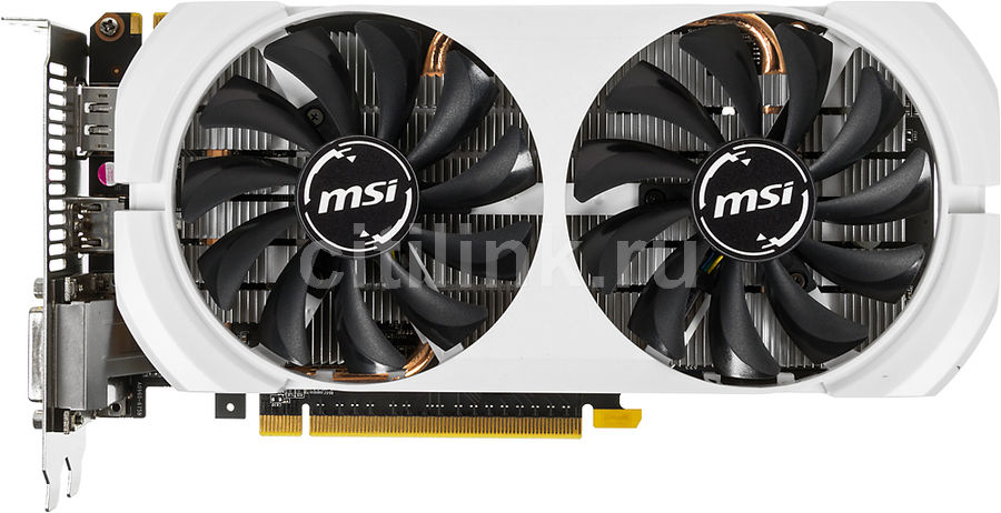 Видеокарта MSI GeForce GTX 960,  GTX 960 4GD5T OCV2,  4Гб, GDDR5, OC,  Ret