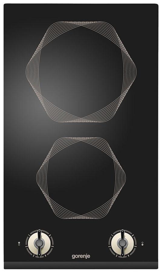 Варочная панель GORENJE Infinity EC310INI,  Hi-Light,  независимая,  черный