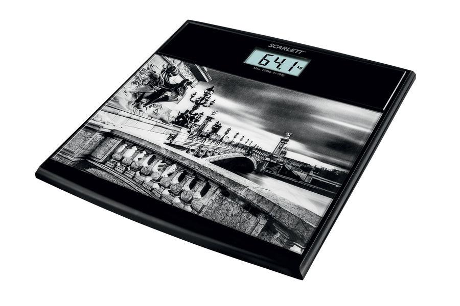 Весы SCARLETT SC-BS33E063, до 180кг, цвет: рисунок [sc - bs33e063]