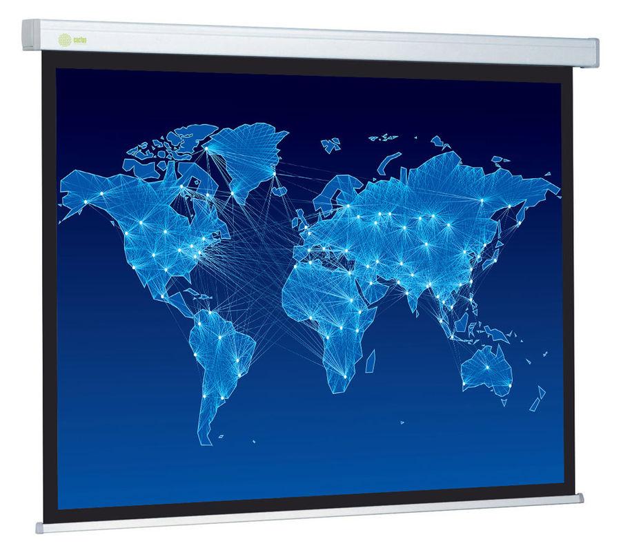 Экран CACTUS Wallscreen CS-PSW-150x150,  150х150 см, 1:1,  настенно-потолочный белый