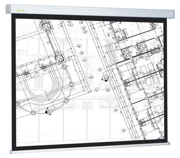 Экран CACTUS Triscreen CS-PST-150×150 белый