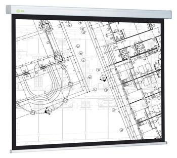 Экран CACTUS Wallscreen CS-PSW-152×203 белый