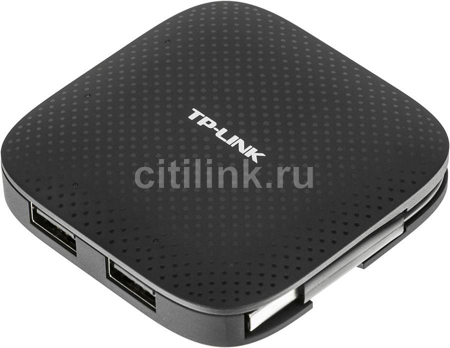 Хаб (разветвитель) TP-LINK UH400, черный