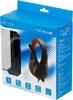 Наушники с микрофоном OKLICK HS-L100,  мониторы, черный  / красный [no-530] вид 9