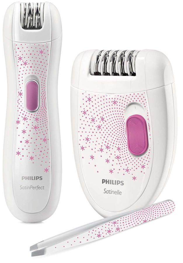 Эпилятор PHILIPS HP6549/00 белый