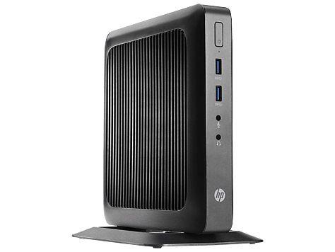 Тонкий Клиент  HP Flexible t520,  AMD  GX-212JC,  DDR3L 4Гб, 64Гб(SSD),  AMD Radeon HD,  Windows Embedded Standard 7E,  черный [j9a41ea]