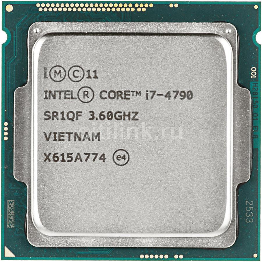 Процессор INTEL Core i7 4790, LGA 1150 ** OEM [cm8064601560113s r1qf]