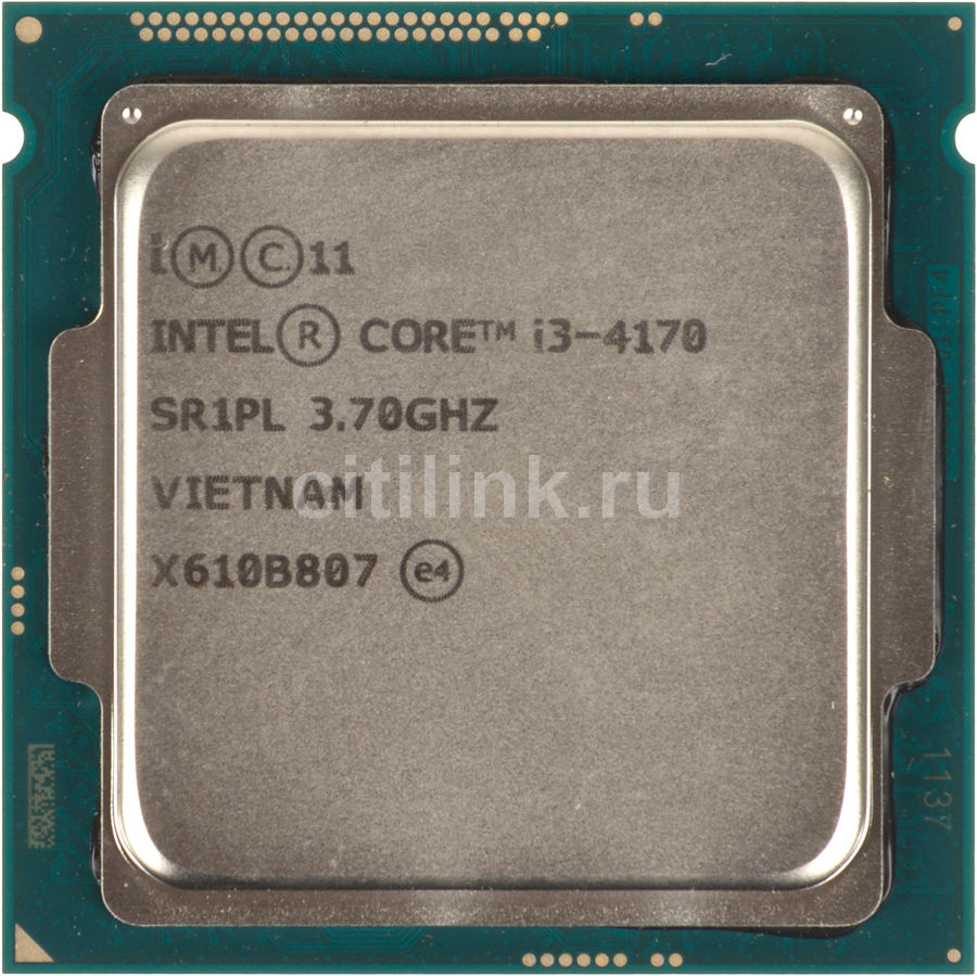 Процессор INTEL Core i3 4170, LGA 1150 OEM asus sabertooth z97 mark 1 desktop motherboard z97 socket lga 1150 i7 i5 i3 ddr3 32g sata3 atx second hand high quality