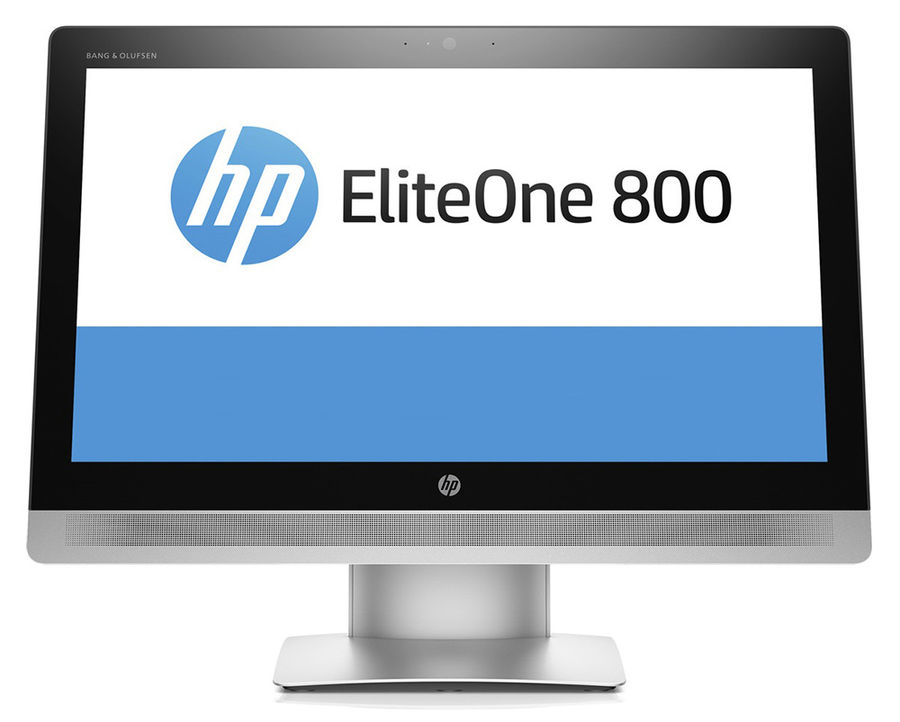 Моноблок HP EliteOne 800 G2, Intel Core i5 6500, 8Гб, 1000Гб, Intel HD Graphics 530, DVD-RW, Windows 10 Professional, черный и серебристый [p1g69ea]