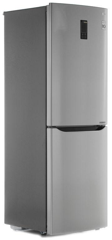 Холодильник LG GA-B379SMQL,  двухкамерный,  нержавеющая сталь