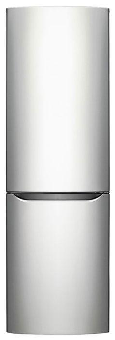 Холодильник LG GA-B379SMCL,  двухкамерный,  нержавеющая сталь