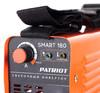 Сварочный аппарат инвертор PATRIOT SMART 180 [605301835] вид 2